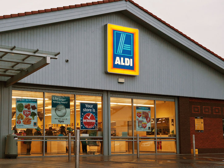 Aldi enters mens fashion market