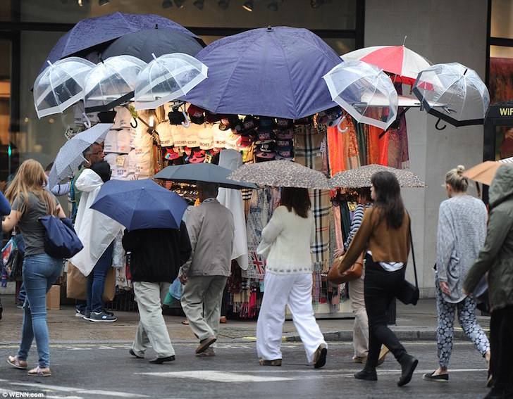 Wet weather and late Bank Holiday dampens August sales