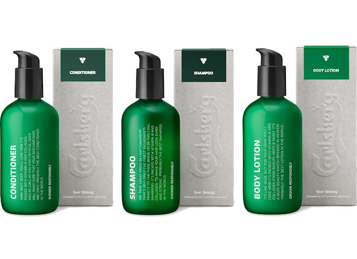 Carlsberg launches Beerd Beauty range for Movember