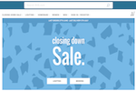 bhs website closing down sale