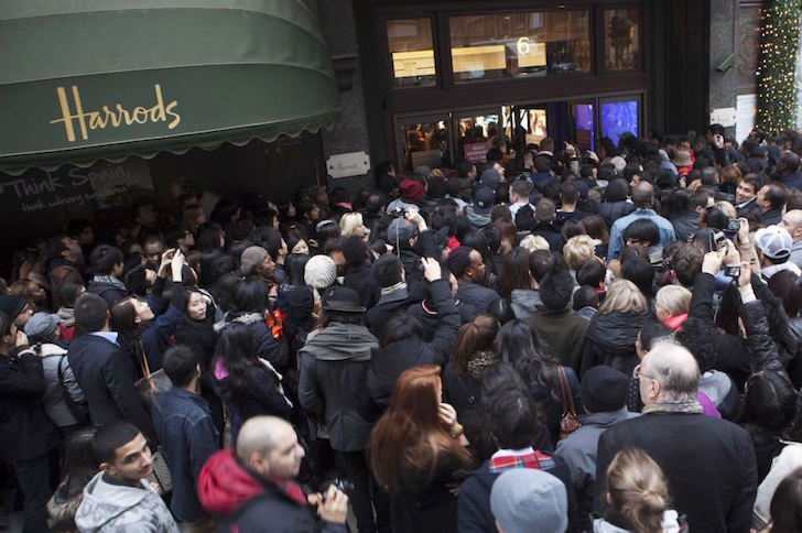 Boxing Day bonanza for high street retailers as millions hit the shops