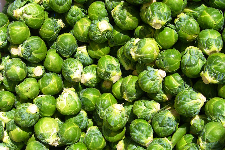 Super sized sprouts for the Christmas table