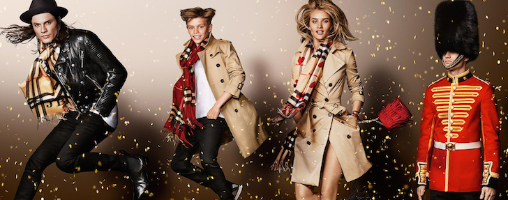 Burberry ad allows customers to star