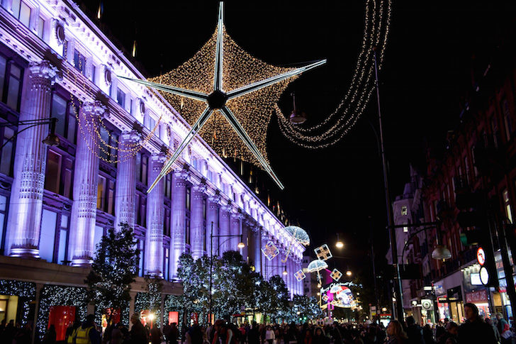 Early Christmas for Selfridges Oxford Street