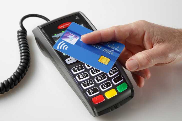 Contactless cards used in over a billion transactions last year