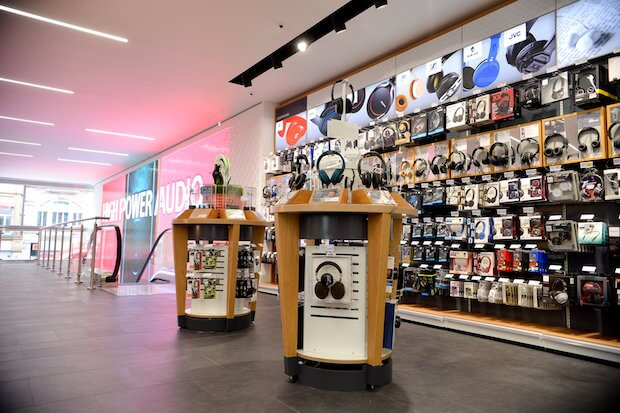 dixons carphone store interior