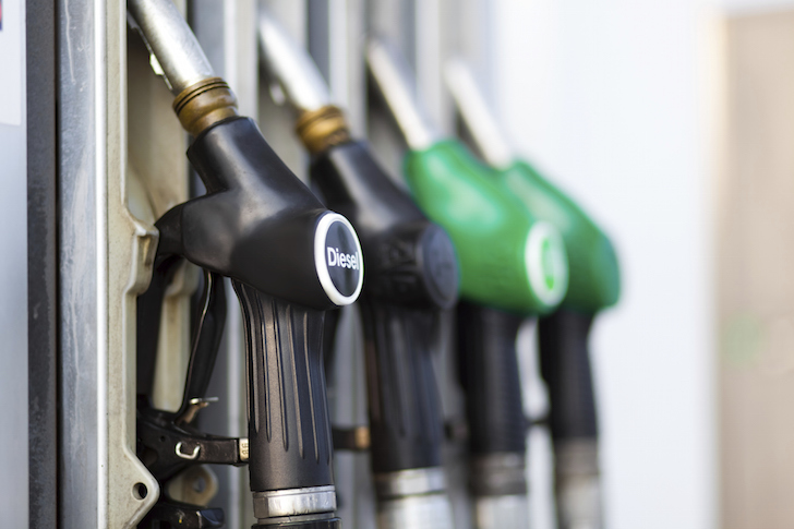 Fuel prices to fall below �per litre?