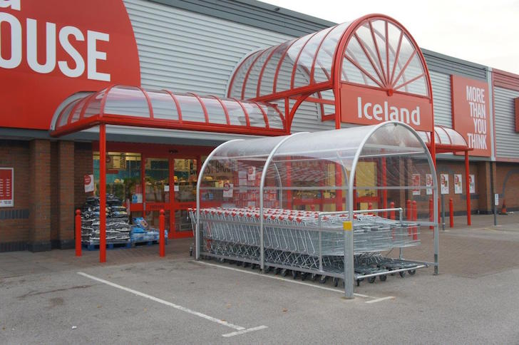Iceland bid to stop trolley theft meets cool response from customers