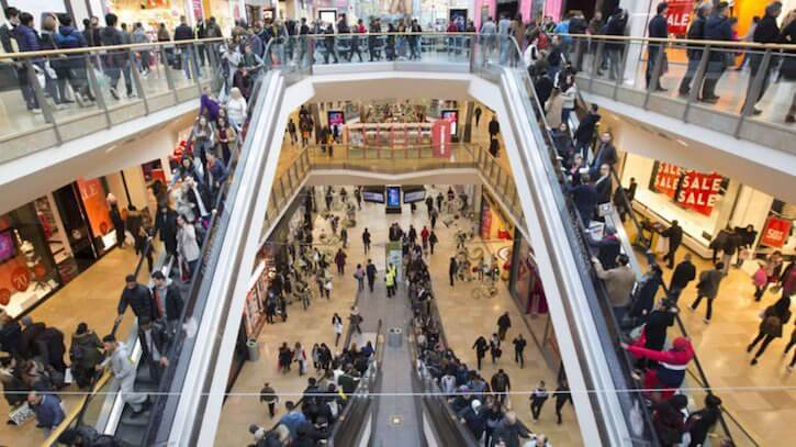 retail footfall june 2017