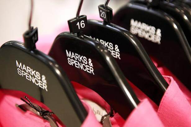 marks and spencer clothing sales lowest ten years