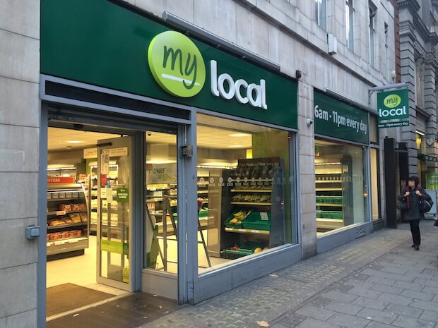 mylocal to sell stores