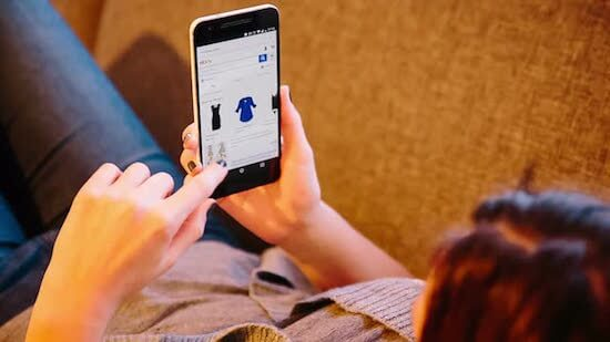 online smartphone shopping