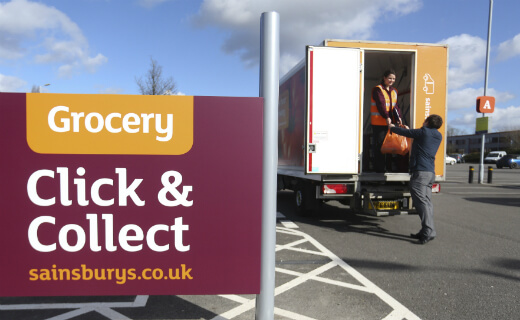 sainsburys click collect stores