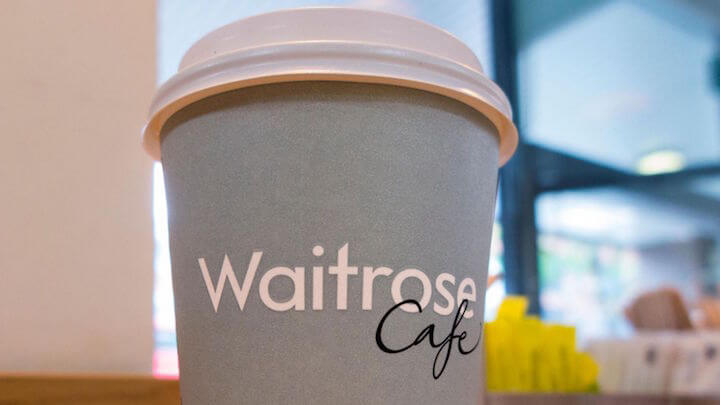 waitrose disposable coffee cup