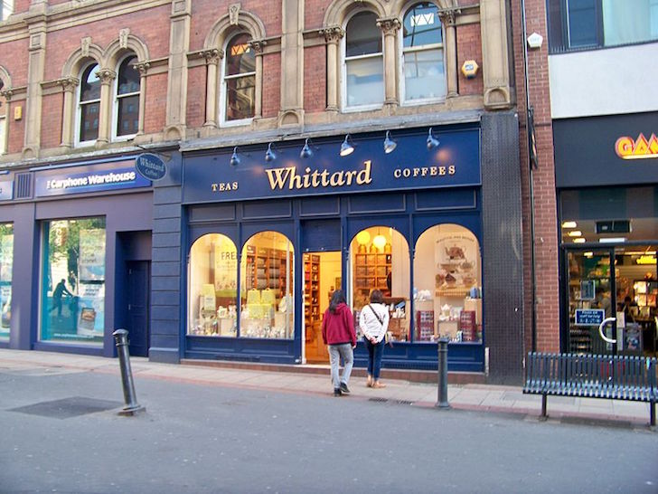 British company Whittard selling tea to China
